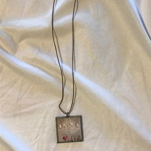 Jewelry - Double Sided Square Necklace